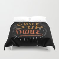 dance Duvet Covers featuring Dance by skitchism