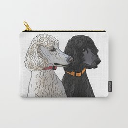 Pair of Poodles Carry-All Pouch
