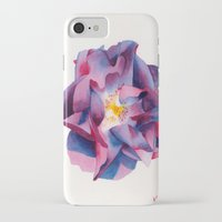 thanksgiving iPhone & iPod Cases featuring Thanksgiving Dahlia by Powers Fine Art Watercolor Studio
