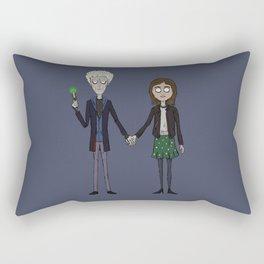 Twelfth & Clara (Burton style) Rectangular Pillow