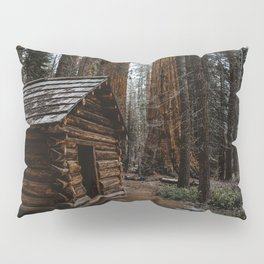 Log Cabin in the Giant Forest Pillow Sham