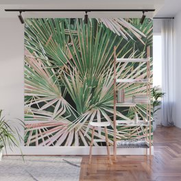 Palms #nature #painting Wall Mural