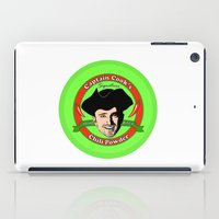 cook iPad Cases featuring Captain 'Cook' by Harry Martin
