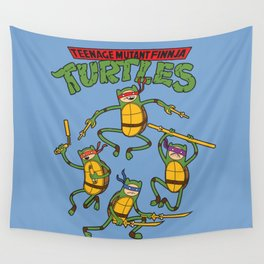 Finnja Turtles Wall Tapestry