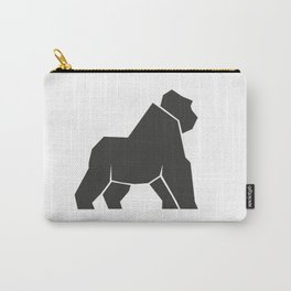 Geometric gorilla icon Carry-All Pouch