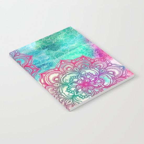 Round & Round the Rainbow Notebook