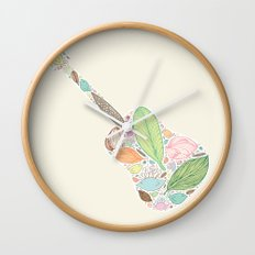 Let your Guitar Sing Wall Clock