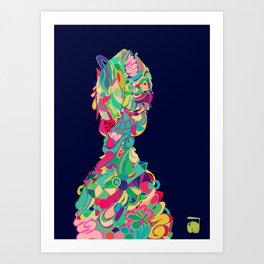 IMMORTAL INNER CHILD  Art Print