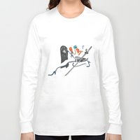 kill la kill Long Sleeve T-shirts featuring Kill La Kill Satsuki by Papan Seniman