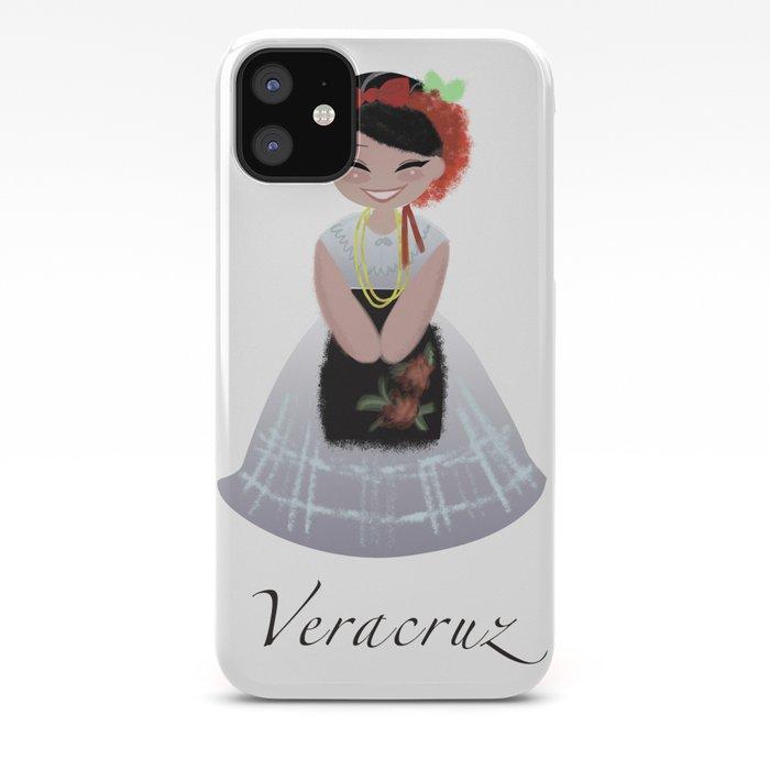 Traje Tipico Veracruz Iphone Case By Rosaelenadesign