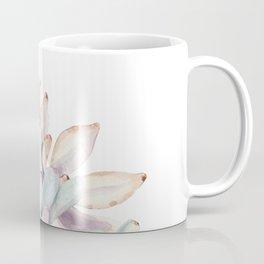 Desert Succulents on White Coffee Mug