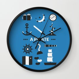 OUAT - A Pirate Wall Clock