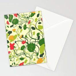 Nasturtiums 1 Stationery Cards