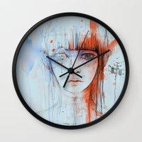 persona Wall Clocks featuring Persona sin fin by DizzyNicky