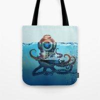 nemo Tote Bags featuring Nemo by Tony Vazquez