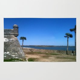 St. Augustine 2012 The MUSEUM Zazzle Gifts - Society6 Rug