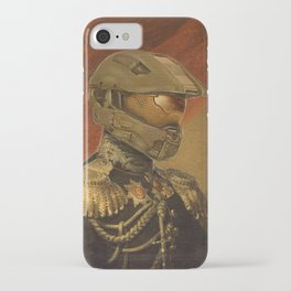Halo Master Chief Spartan 117 Class Photo General Painting Fan Art iPhone Case