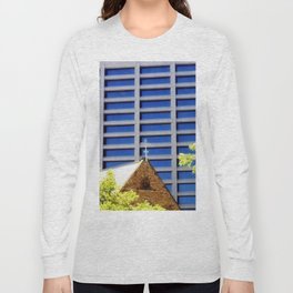 Blessing the Skyscrapers Long Sleeve T-shirt