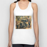 the godfather Tank Tops featuring The Godfather. Part Two by Miquel Cazanya