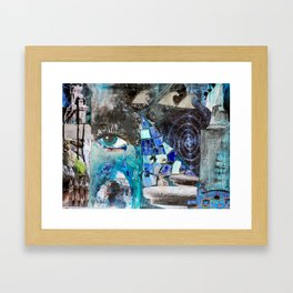 Architecture of water. or just whatever Framed Art Print