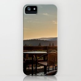 Loving view iPhone Case