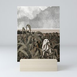 There's A Ghost in the Cornfield Again Mini Art Print