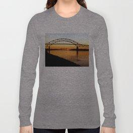 Cape Cod Bourne Bridge Long Sleeve T-shirt