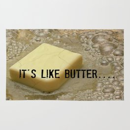 it's like butter - series 2 of 4 Rug