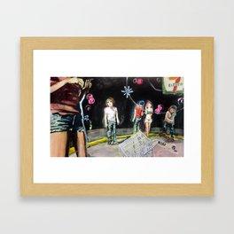 7-11 University Framed Art Print