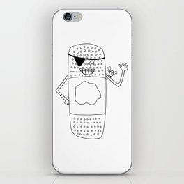 The Bandaid Bandit!  iPhone Skin