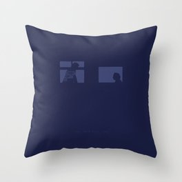 Criminals Always Lie. -The Thin Blue Line Throw Pillow