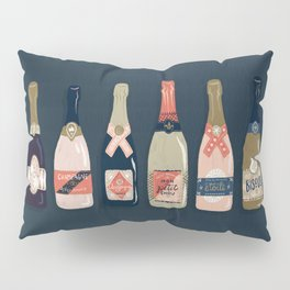 French Champagne Collection – Teal Pillow Sham