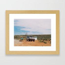 Handmade Goods Framed Art Print
