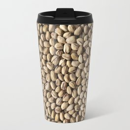 Pistachio. Background. Travel Mug