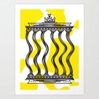berlin Art Prints featuring Berlin by Jan Luzar