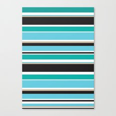 Vivid Stripes Canvas Print