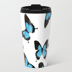 Blue mountain swallowtail Travel Mug