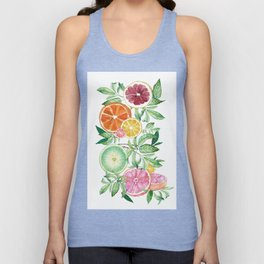 Citrus Fruit Unisex Tank Top