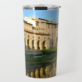 The Arno River - Florence Italy Travel Mug