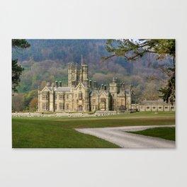 Margam Castle Canvas Print