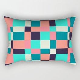 colorful squares Rectangular Pillow