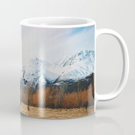 Peaceful New Zealand mountain landscape Coffee Mug