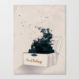 Box of Darkness Canvas Print