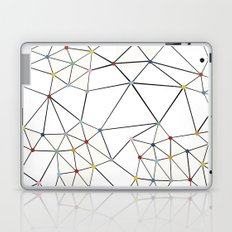 Seg with Color Spots White Laptop & iPad Skin