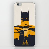 movie poster iPhone & iPod Skins featuring Movie Poster by Inno Theme