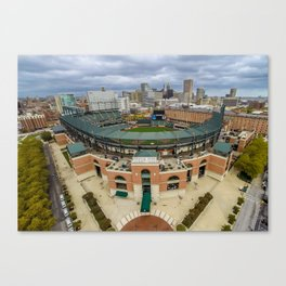 Oriole Park at Camden Yards by Air Canvas Print