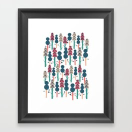 Huhuu Framed Art Print
