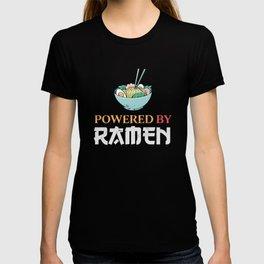 Japanese Food Powered by Ramen Gift T-shirt