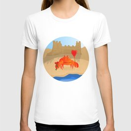 Crabby Suitor T-shirt