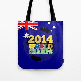 2014 World Champs Ball - Australia Tote Bag